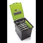 Copernicus TEC1000 portable device management cart/cabinet Desktop mounted Black