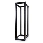 StarTech.com 4POSTRACKHD rack cabinet 45U Freestanding rack Black