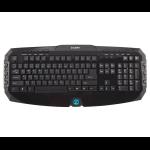 Zalman ZM-K300M USB AZERTY Black keyboard