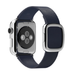 Apple 38mm Modern Buckle - Small - watch strap - midnight blue - for Watch (38 mm)