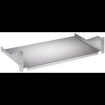 "Intellinet 19"" Cantilever Shelf, 2U, Fixed, Depth 400mm, Grey"