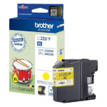 Brother LC-22UY Ink cartridge yellow, 1.2K pages