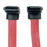 Tripp Lite 19-in. 7Pin/7Pin SATA cable 0.48 m Red