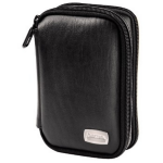 "Hama 2.5"" HDD Case ""Premium"", black Leather"