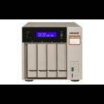 QNAP TVS-473e NAS Tower Ethernet LAN Black, Bronze