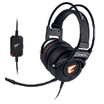 Gigabyte AORUS H5 Binaural Head-band Black headset