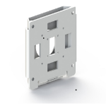 Ergonomic Solutions Flush wall Moun white