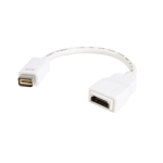 """StarTech.com MDVIHDMIMF video cable adapter 7.87"""" (0.2 m) Mini-DVI HDMI White"""