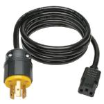 """Tripp Lite P011-006 power cable Black 72"""" (1.83 m) C13 coupler NEMA L6-20P"""