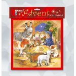 Memorex XMAS ADVENT CALENDAR CHILDRENS NATIVITY 280X280MM(EACH)