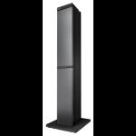 LG RK1D sistema de audio para el hogar Torre Negro 100 W