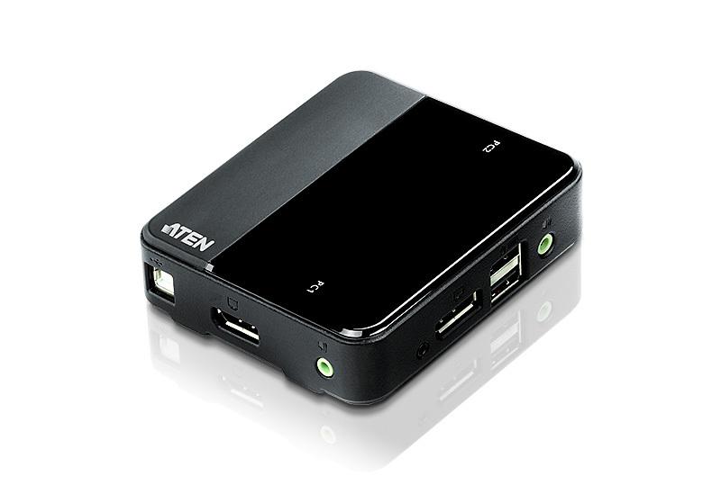 Aten CS782DP KVM switch Black