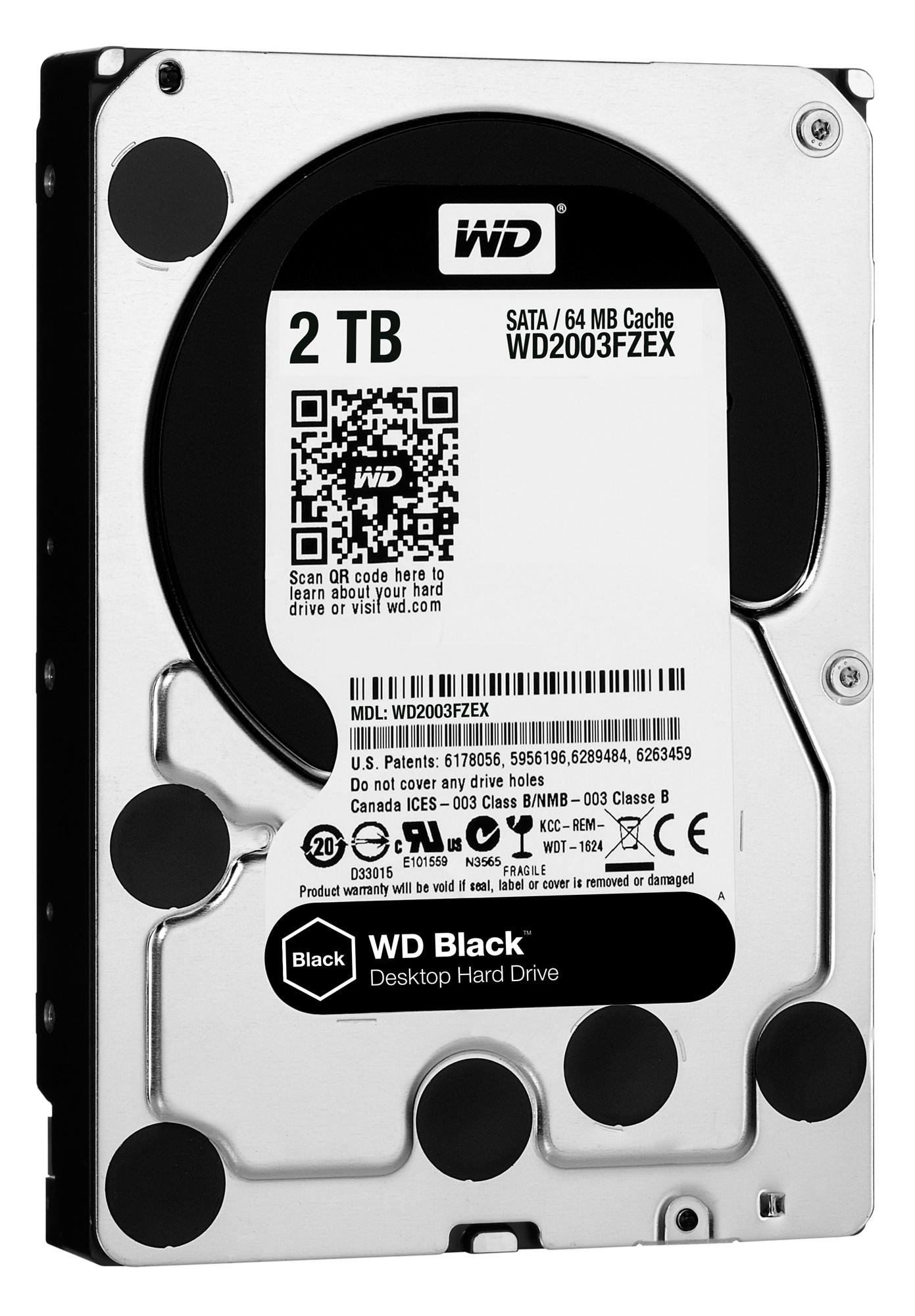 "Western Digital Black 3.5"" 2000 GB Serial ATA III"