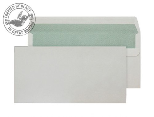 Blake Purely Environmental Wallet Self Seal Natural White DL 110×220mm 90gsm (Pack 500)