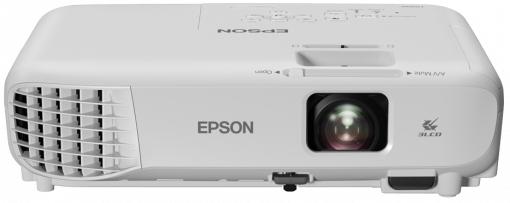 Epson EB-W06 videoproyector 3700 lúmenes ANSI 3LCD WXGA (1280x800) Proyector portátil Blanco