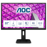 "AOC P1 22P1D LED display 54,6 cm (21.5"") 1920 x 1080 Pixels Full HD Zwart"