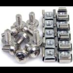 """StarTech.com CABSCREWM62 screw/bolt 0.472"""" (1.2 cm) 100 pc(s) M6"""