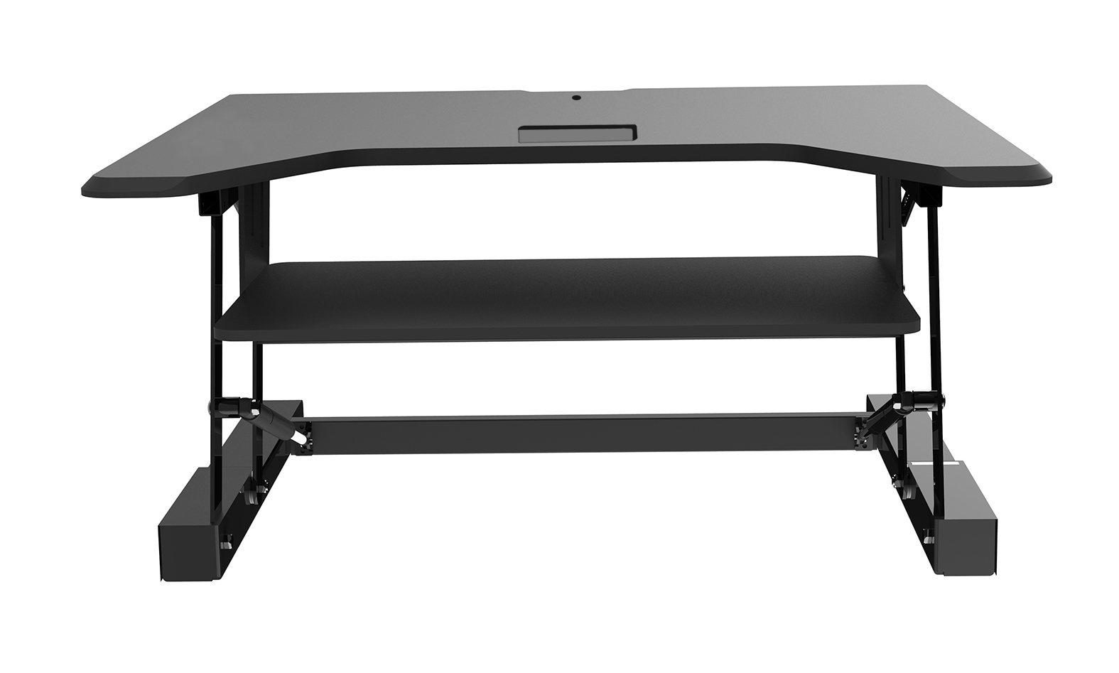 Sit/stand 36in Height Adjust Desk