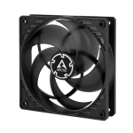 ARCTIC P12 PWM (Black/Transparent) Pressure-optimised 120 mm Fan with PWM