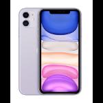 "Apple iPhone 11 15.5 cm (6.1"") 128 GB Dual SIM 4G Purple iOS 13"