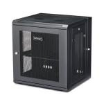 "StarTech.com 12U 19"" Wall Mount Network Cabinet - 16"" Deep Hinged Locking IT Network Switch Depth Enclosure - Vented Computer Equipment Data Rack w/Shelf & Flexible Side Panels - Assembled"