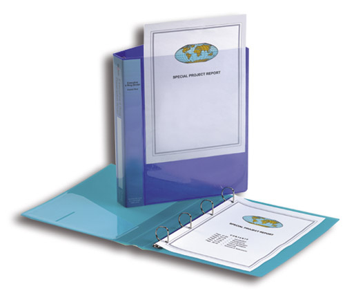 Snopake 13387 ring binder Blue
