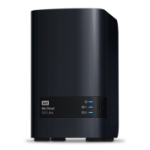 Western Digital My Cloud EX2 Ultra Eingebauter Ethernet-Anschluss Desktop Schwarz NAS