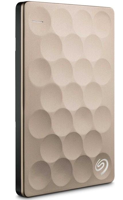 Seagate Backup Plus Ultra Slim 2TB disco duro externo 2000 GB Oro