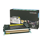 Lexmark C736H1YG Toner yellow, 10K pages