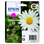 Epson C13T18034010 (18) Ink cartridge magenta, 180 pages, 3ml