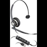 Plantronics Encorepro HW715 headset Monaural Head-band Black, Silver