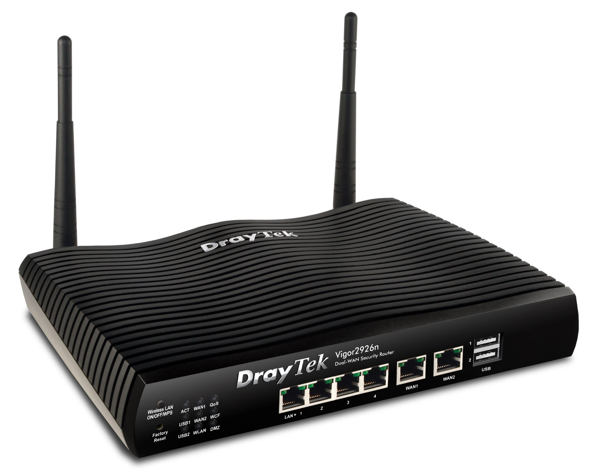 Draytek Vigor 2926n High performance dual-WAN Router/Firewall with SSL VPN and WLAN with WiFi 802.11n