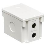 Tripp Lite B110-SP-CAT-OD2 Outdoor In-Line PoE Surge Protector - IP68 Rated, 1 Gbps, Cat5e/6, IEC Compliant, 110 Punch Down, TAA
