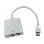 Cables Direct HDMINIDP-DVI015 video cable adapter 0.15 m DisplayPort DVI-D White