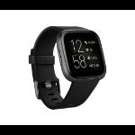 "Fitbit Versa 2 reloj inteligente Negro, Gris AMOLED 3,55 cm (1.4"")"