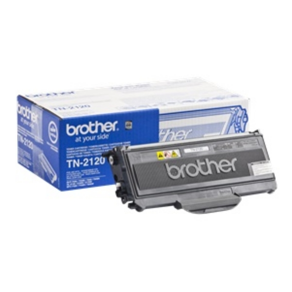 Brother TN-2120 Toner black, 2.6K pages