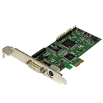 StarTech.com High-definition PCIe capture card – HDMI VGA DVI & component – 1080P at 60 FPS
