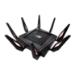 ASUS Rapture GT-AX11000 router inalámbrico Tribanda (2,4 GHz/5 GHz/5 GHz) Gigabit Ethernet Negro