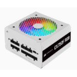 Corsair CX750F RGB power supply unit 750 W 24-pin ATX ATX White