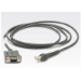 Zebra RS232 Cable serial cable Grey 2.1 m