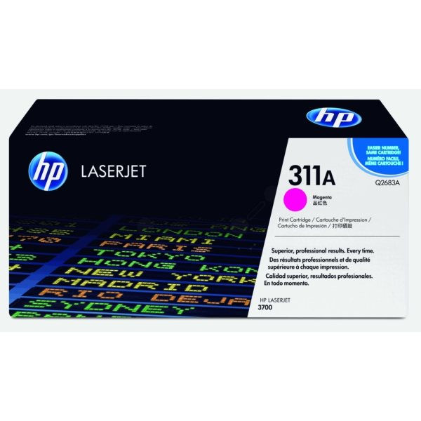 HP Q2683A (311A) Toner magenta, 6K pages @ 5% coverage