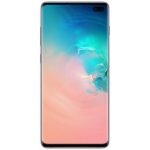 """Samsung Galaxy S10+ SM-G975F 16.3 cm (6.4"""") 8 GB 128 GB Hybrid Dual SIM 4G USB Type-C White Refurbished 4100 mAh"""