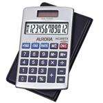 Aurora HC208TX Pocket Basic calculator Silver calculator