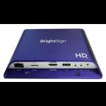 BrightSign HD1024 interface hub USB 2.0 Purple