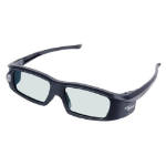 Optoma ZD301 Black 1pc(s) stereoscopic 3D glasses