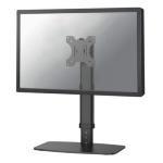 "Newstar Stylish Tilt/Turn/Rotate Desk Stand for 10-30"" Monitor Screen, Height Adjustable - White"