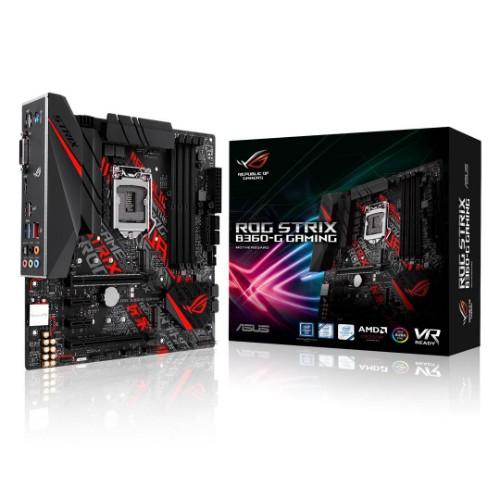 ASUS ROG STRIX B360-G GAMING motherboard LGA 1151 (Socket H4) Micro ATX Intel® B360
