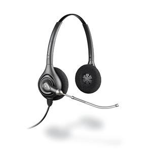Plantronics SupraPlus Wideband HW261/A Binaural Head-band Black headset