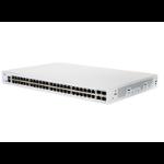 Cisco CBS350-48T-4X-UK network switch Managed L2/L3 Gigabit Ethernet (10/100/1000) Silver