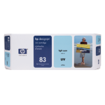 HP 83 licht-cyaan DesignJet UV-inktcartridge, 680 ml